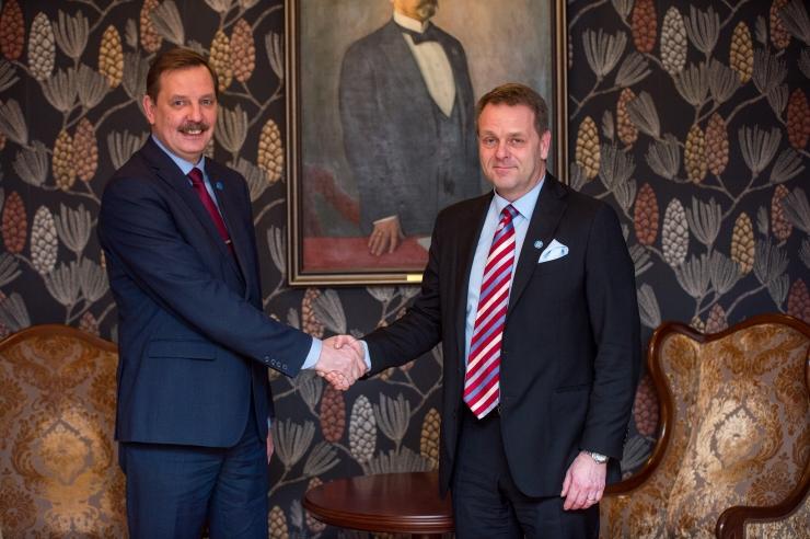 Helsingi ja Tallinna linnapead arutasid täna kahe linna koostöövõimalusi
