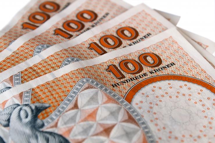 Taani taaskasutuspoes leiti kasuka taskust 7000 eurot
