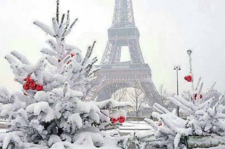 Pariisis suleti talviste ilmaolude tõttu kaheks päevaks Eiffeli torn