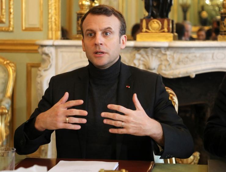 Macron ärgitas Putinit aitama süürlaste kannatusi lõpetada