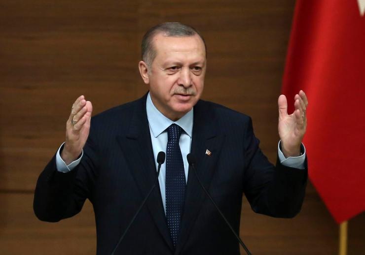 Erdoğan: Süüria operatsioonis tulistati alla Türgi armeekopter