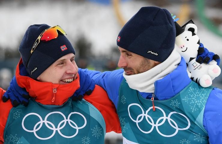 Norra võttis suusavahetusega murdmaasõidus kolmikvõidu