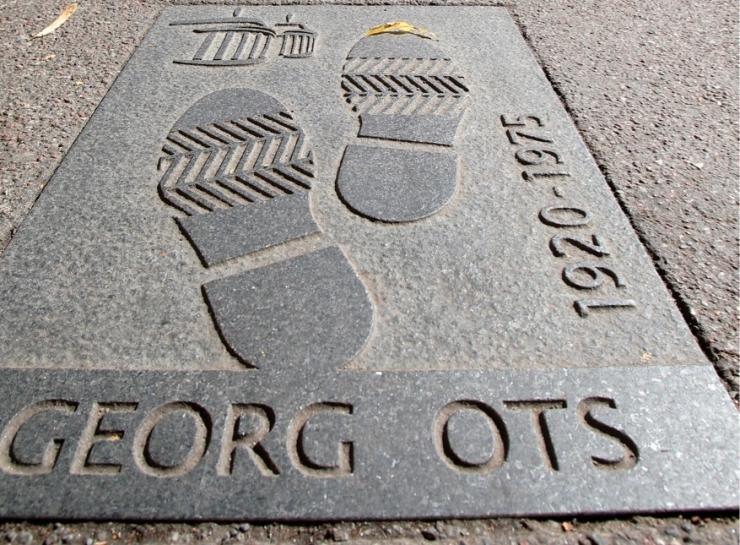 Georg Otsa kuju ja nõukogude estraad