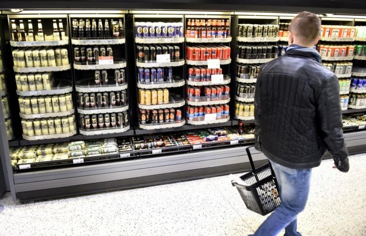 Soome riikliku alkopoe müük langes jaanuaris järsult