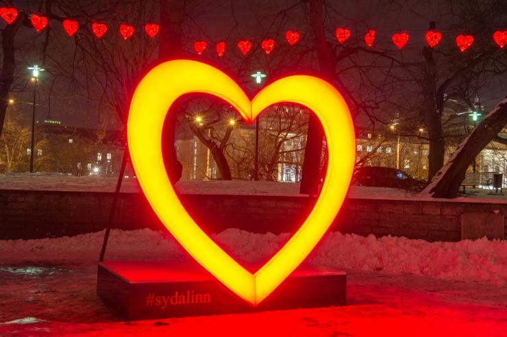 Tallinna südames valmistati sõbrapäevaks