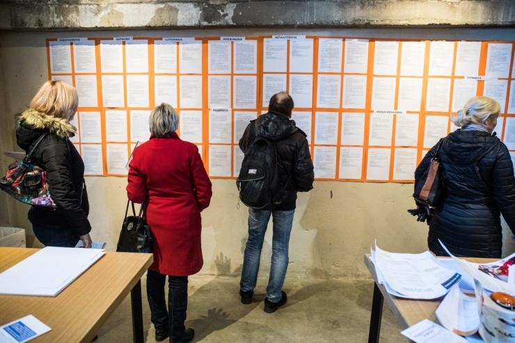 Eesti töötuse määr langes mullu 5,8 protsendile