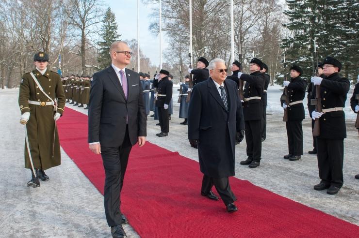 FOTOD! Eesti riigipeale andsid volikirjad Hiina, Poola ja Panama suursaadikud
