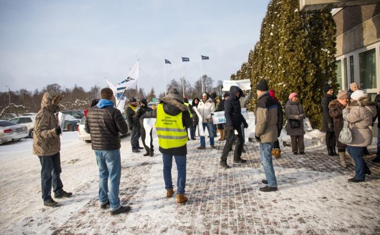 Lihakombinaadi töötajad Soomes läbimurret ei saavutanud