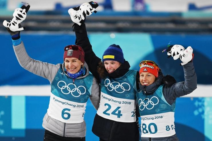 Laskesuusatamise naiste tavadistantsi kuld läks Rootsi, Talihärm jäi 50. kohale