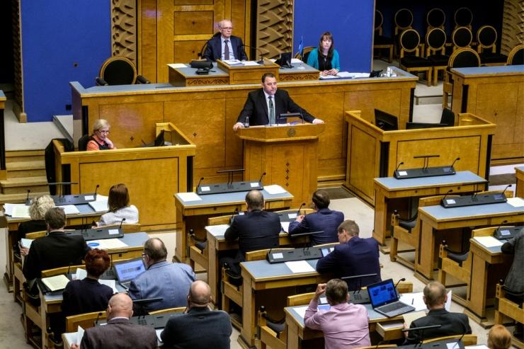 Riigikogu võttis menetlusse eelnõu osa tulumaksu suunamiseks MTÜ-dele