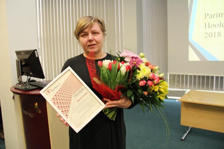 Eesti Õdede Liidu aasta hooldustöötajaks kuulutati Marina Kaldas