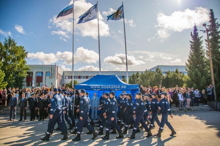 Sisekaitseakadeemia tähistab Eesti juubelit piduliku rivistusega