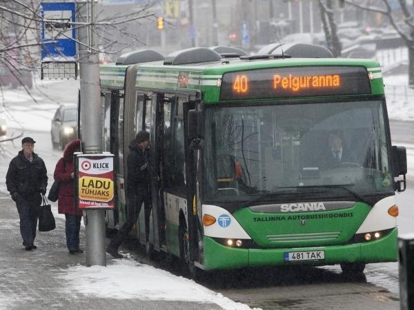 Ühistranspordi liikluse muudatused Tallinnas 23. ja 24. veebruaril