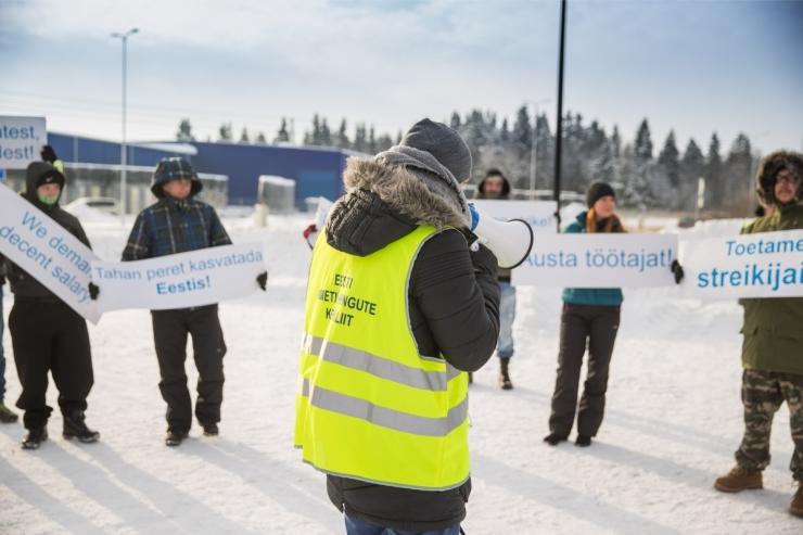 HKScan: streikijad otsustasid ise läbirääkimised lõpetada