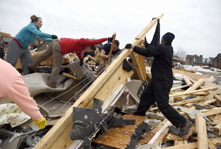USA keskosas sai tormis surma viis inimest