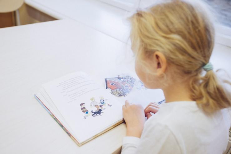 Keskraamatukogu ootab lapsi lugemismängudele