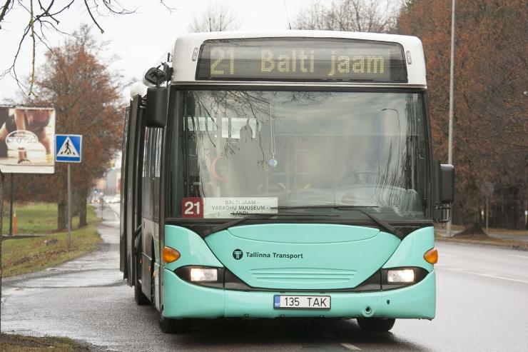 Märtsist muutuvad mitmete busside sõiduplaanid