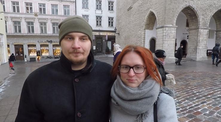 Sten-Hans ja Evelin: jalakäiate alasid võiks Tallinnas juurde teha