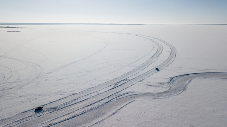 Maanteeamet kavandab veel kahte jääteed