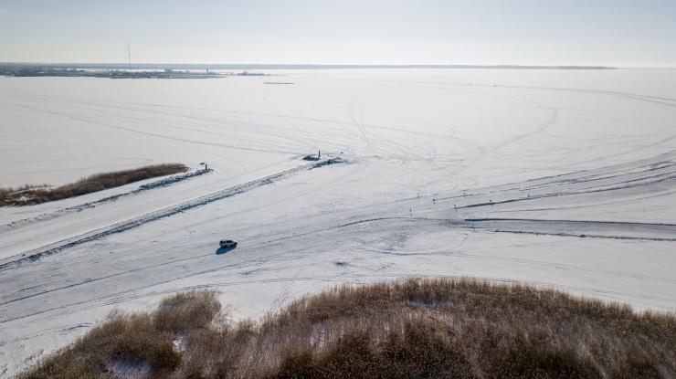 Täna on avatud kolm ametlikku jääteed