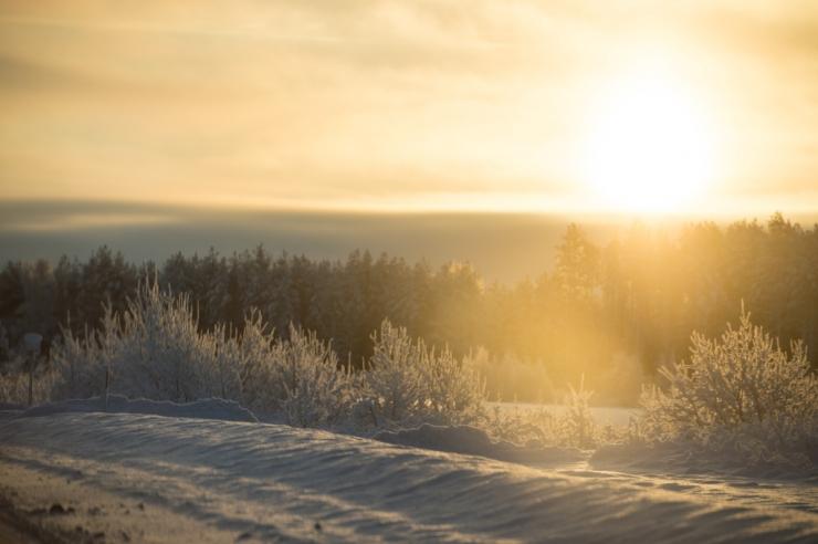Kagu-Eestis on teedel kohati härmatist