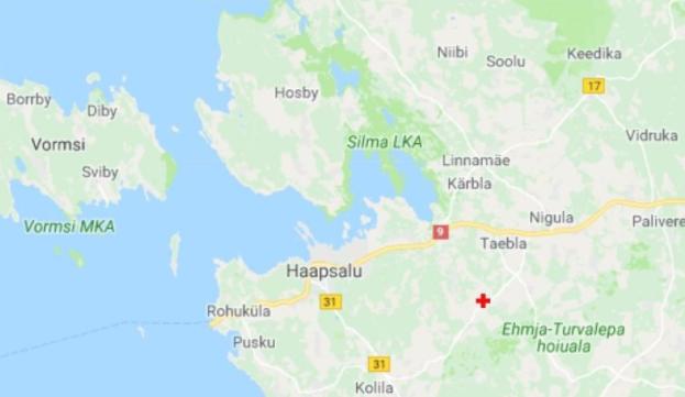 Lääne-Eestis toimus öösel maavärin