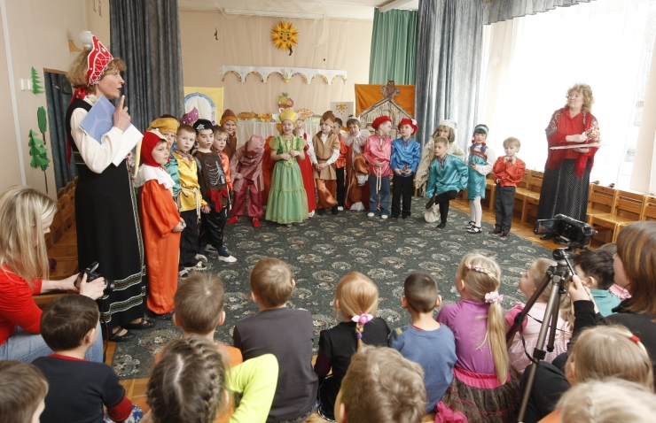 """Tallinna lasteaiad esinevad teatrifestivalil """"Kanutiaia Kann"""""""
