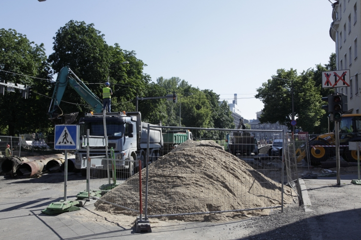 Gonsiori tänava ehituse uus etapp algab 12. märtsil