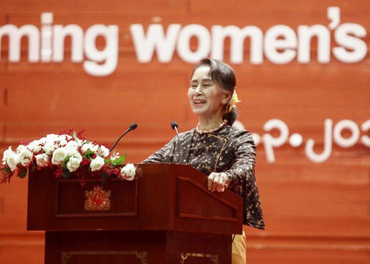 Suu Kyi: naiste õigused on inimõiguste alus