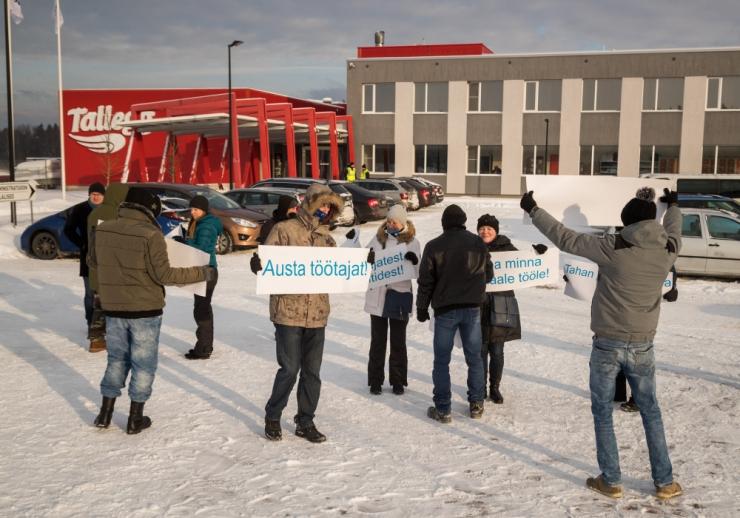 Soome ametiühing: HKScan peab alustama streikijatega läbirääkimisi