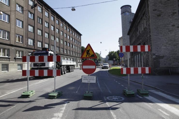 Seoses Gonsiori tänava remondiga suunatakse bussid ümbersõidule
