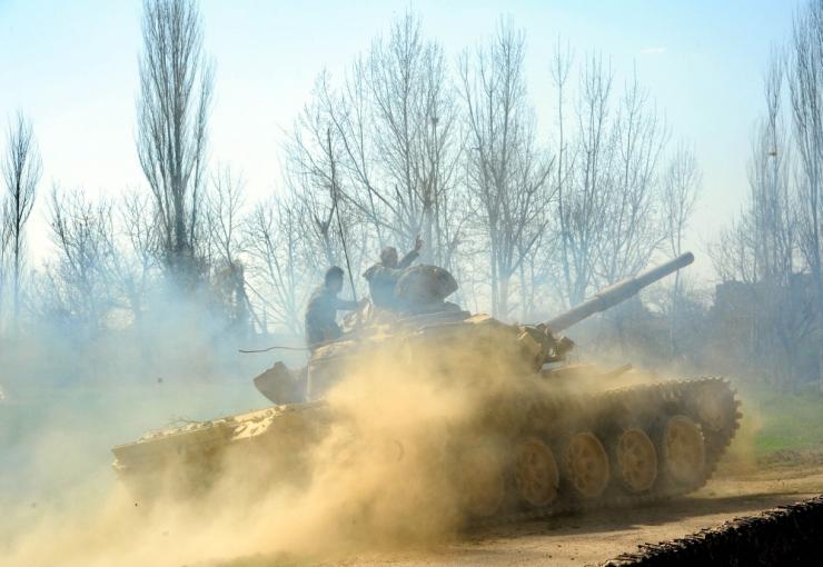 Süüria sõjas on seitsme aastaga hukkunud üle 350 000 inimese