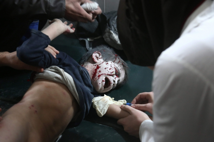 ÜRO: Lapsed on Süüria konfliktis üha haavatavamad