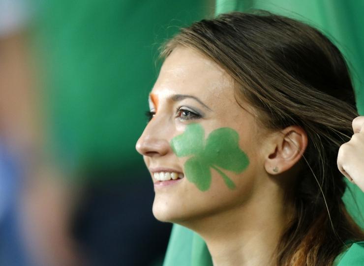 Vabaduse väljakul tähistatakse iirlaste rahvuspüha