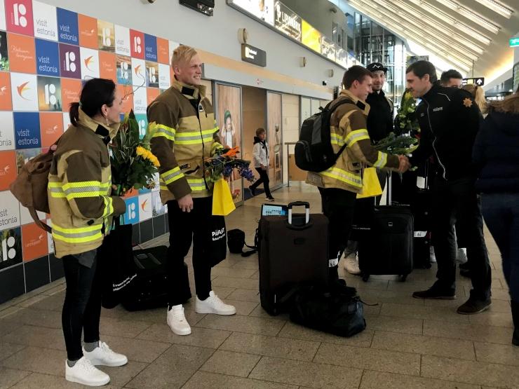Eesti päästjad olid rahvusvahelisel võistlusel edukad