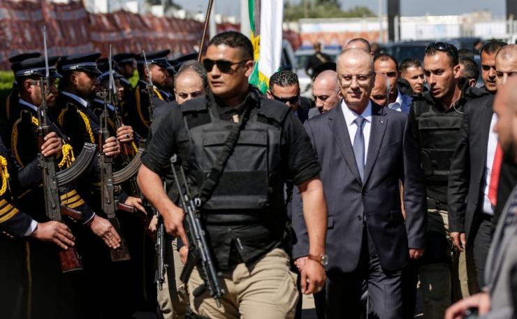 Gazas plahvatas Palestiina peaministri saabumisel lõhkekeha