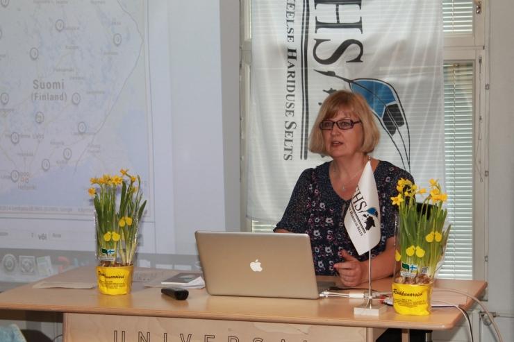 Soomes elavad eestlased tähistasid emakeelepäeva kirjutamisvõistlusega