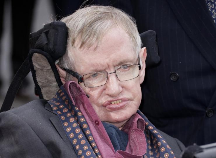 Suri tuntud teadlane Stephen Hawking