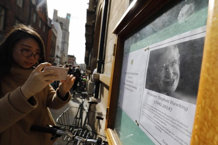 Rootsi akadeemia: Hawking oli suur teadlane
