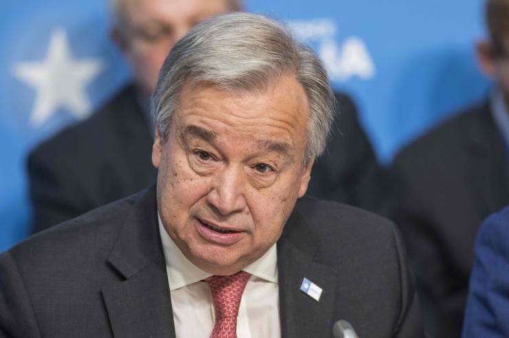 ÜRO nimetas närvigaasi kasutamist lubamatuks