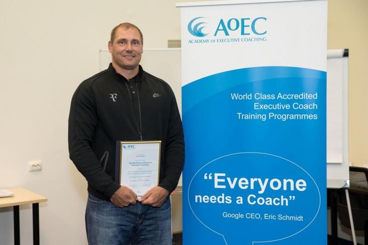 Gerd Kanterist sai diplomeeritud juhtimis-coach
