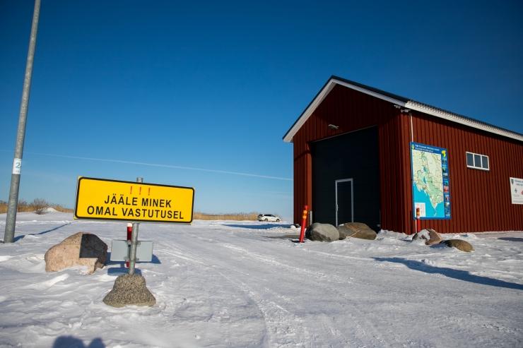 Maanteeamet sulgeb lõplikult kaks jääteed