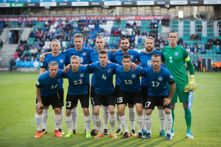 Eesti koondis tõusis FIFA edetabelis koha võrra