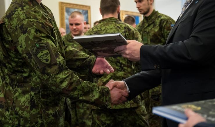 Eesti kaitseväelased said Liibanoni rahuvalvemissiooni medalid