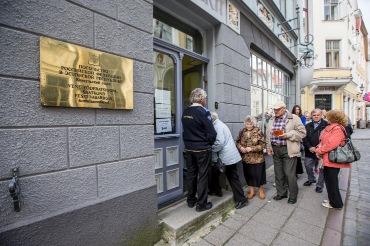 Vene kodanikud saavad Eestis presidenti valida üheksas jaoskonnas