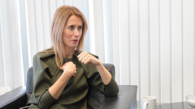 Kaja Kallas: ma ei soovi valida pooli