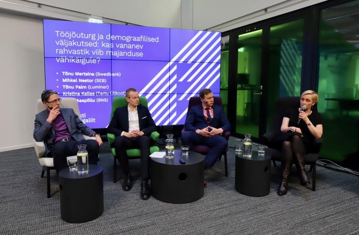 Eksperdid: ilma sisserändeta Eesti rahvaarv püsima ei jää