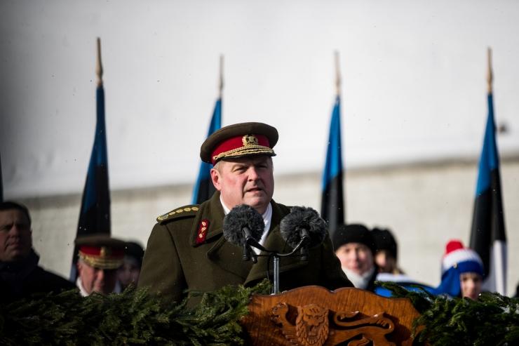 Kaitseväe juhataja arutas Islandi välisministriga NATO tippkohtumist