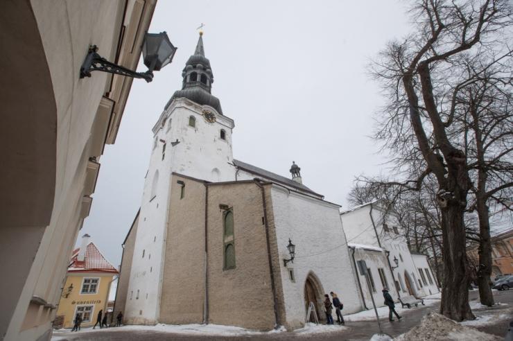 Volikogu otsustas Toomkiriku hoone kogudusele üle anda