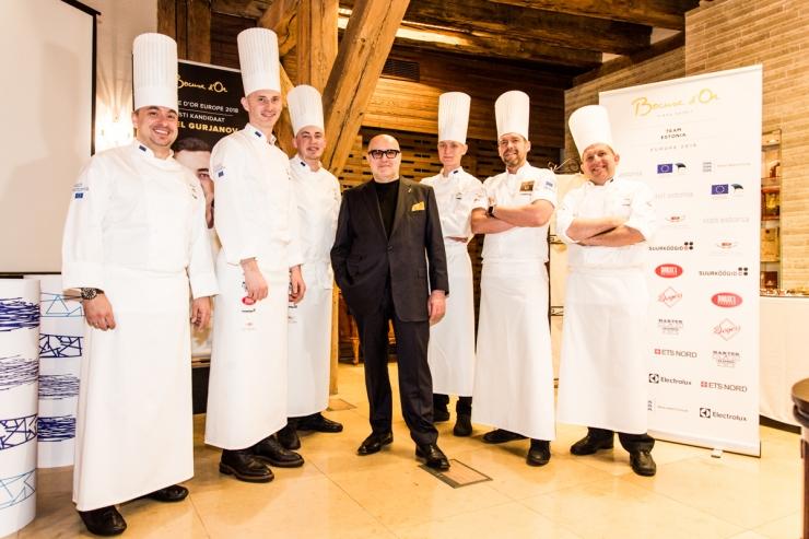 Eesti valmistub kokkade olümpiale minekuks